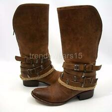 FAST SHIP! EUC SOLD OUT FREEBIRD BY STEVEN DROVE/DROVER BOOTS TAN US 7