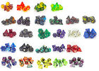 Poly Dice sets for RPGs - Roleplayers 7 dice gaming polynomials ideal for D&D