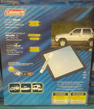Sunforce Coleman 7 Watt Solar 12V Battery Trickle Charger