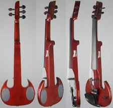 SV5 Mark Wood Red Stingray 5-string Electric Violin Or Viola With Free Bow and C