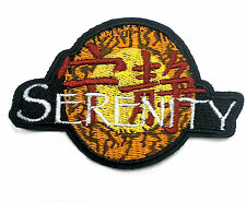 Firefly Serenity logo embroidered iron on patch