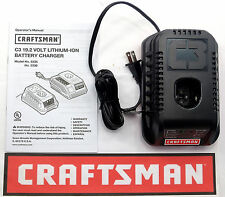 NEW CRAFTSMAN C3 19.2 VOLT LITHIUM-ION CORDLESS BATTERY CHARGER 5336 19.2V