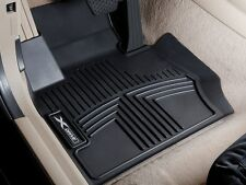 BMW Black All Weather Floor Liners 2014- F33 428Xi 435Xi Convertible 82112286108