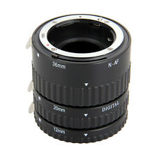 Meike Auto Focus AF Macro Extension Tube Set for Nikon D-SLR Camera