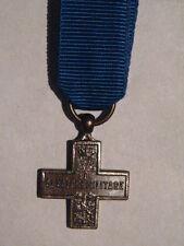 Medaglia mignon croce al valore militare