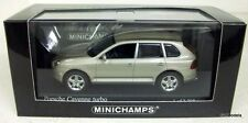 MINICHAMPS 1/43 - 400 061081 PORSCHE CAYENNE TURBO 2002 BEIGE METALLIC MODEL CAR
