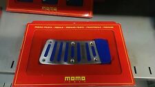 Momo Pedals Footrest tuning Blue