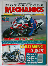 MOTORCYCLE MECHANICS CAFE RACER 1998 APRIL HONDA CB1110R GOLD WING DUCATI BSA
