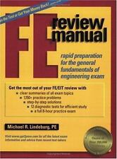 FE Review Manual : Rapid Preparation for the General Fundamentals of Engineering