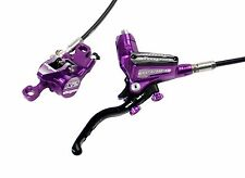 Hope Tech 3 X2 Purple Right / Rear with Black Hose Brake - Brand New