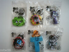 2016 Burger King TEEN TITANS GO! Toys Complete Set Of 6 **FREE SHIPPING**
