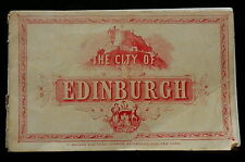 CITY of EDINBURGH Victorian Photo Brochure  PLEASE SEE PHOTOS - COMPLETELY SHOWN