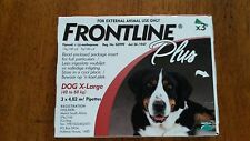 Frontline Plus for Extra Large Dogs  3 pack 40-60 KG (89-132 lbs) Free Ship