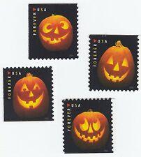 US 5137-5140 Halloween Jack-O'-Lanterns forever set (4 stamps) MNH 2016
