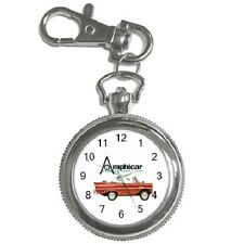AMPHICAR BOAT-CAR VINTAGE KEYCHAIN WATCH **FANTASTIC ITEM**