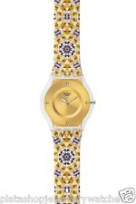 Swatch Watch For The Love of Patterns Skin Collection 2014 Seminato SFW107