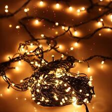 Small LED Light Bubble Christmas Decor String Lamp Holiday Party Decor 100pcs