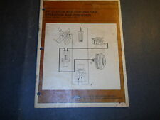 1981 82 FORD ESCORT LYNX A/C CLUTCH AND COOLING FAN OPERATION TECHNICIAN  MANUAL