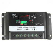 15A MPPT Solar Panel Battery PWM Regulator Charge Controller 12V 24V Auto Switch