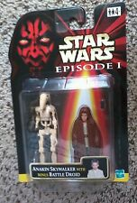 STAR WARS EPISODE 1 2-PACK 1999 Rare MOC Hasbro FOREIGN UK ANAKIN & BATTLE DROID