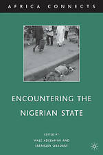 Encountering the Nigerian State (Africa Connects), Very Good,  Book