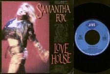 "SAMANTHA FOX Love House  7"" Ps, Dutch Issue, B/W Don'T Cheat On Me, 145.449-7"