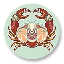 """Pin Button Badge Ø25mm 1"""" Signe Astrologique Zodiaque Zodiac Horoscope Cancer"""