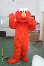 Sesame Street Red Elmo Monster Costume Mascot Adult Size Fancy Dress ADULT AA*