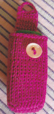 Crochet Pattern ~ CELL PHONE CASE IN TUNISIAN STITCH ~ Instructions
