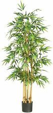Nearly Natural 5253 Bamboo Silk Tree- 64-Inch- Green NEW