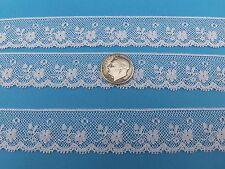"French Heirloom Cotton Lace Edging 3/4"" Wide/White/L2-883"