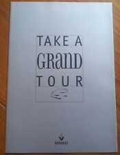Very Rare RENAULT GRAND ESPACE Silver Coloured Leaflet
