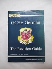 GCSE GERMAN REVISION GUIDE FOR AQA EDEXCEL & OCR BOARDS - CGP  1st Edition