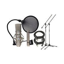 CAD Audio GXL2200SP Studio Mic Pack w/ Stands & XLR Cables