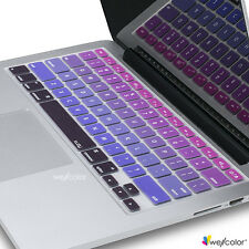 "Silicone Keyboard Skin Cover For Apple Macbook Pro Air Mac Retina 13"" 15"" 17"" PG"