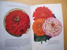 GARDEN FLOWERS IN COLOR (1934)