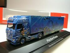 Herpa mercedes actros pescadores trans, bigspace kühlkoffersz - 121668 - 1/87