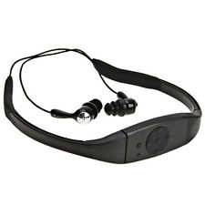8GB 3M Waterproof Sport Mp3 Player Headset FM Radio USB Flash Drive Swimming