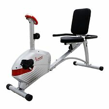 Sunny Health & Fitness SF-RB4417 Magnetic Recumbent Bike NEW
