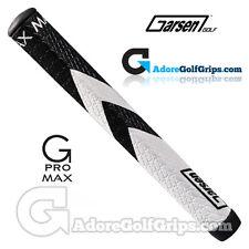 Garsen Golf G-Pro Max Jumbo Putter Grip - Black / White + Grip Tape