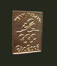 2016 RIO BRAZIL 31st Summer OLYMPIC NOC IRELAND Delegation Team pin