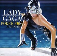 Poker Face [5 Remixes] [Single] by Lady Gaga (CD, Mar-2009, Interscope) SEALED