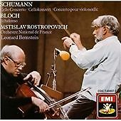 Bloch: Schelomo; Schumann: Cello Concerto (1988)