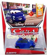 Disney Pixar Cars 2 alberto-Francesco Bernoulli fan-mattel-la cast OVP