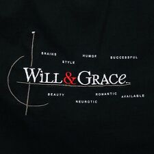 Will and Grace Mens 2XL Sitcom TV 90s Vtg Logo T Shirt
