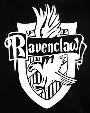 HARRY POTTER Hogwarts RAVENCLAW HOUSE CREST vinyl car or computer decal!