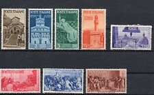 ITALIA 1946 Avvento della Repubblica cmpl 8 v. **