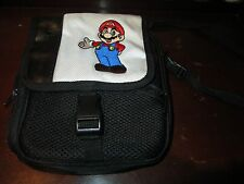 Nintendo DS Super Mario Brothers Gaming Black Carrying Case/ Bag
