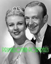 GINGER ROGERS & FRED ASTAIRE 8X10 Lab Photo Movie Still Close-Up Glamour Shot