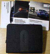 GENUINE BMW M5 SALOON HANDBOOK OWNERS MANUAL WALLET 2011-2015 PACK 4300